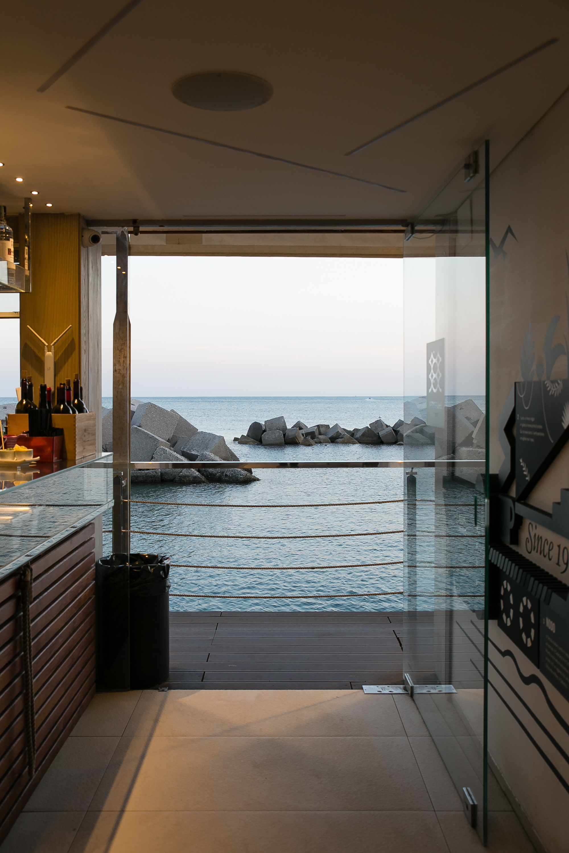 Embarcadero vista sul mare di Salerno